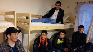 Asylsökande afghaner i Strömfors