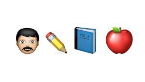emoji språkstuderande