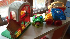 leksaker i daghemmet björnen i kyrkslätt