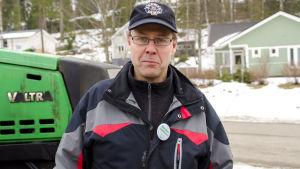 Jordbrukaren Christian Nyholm.