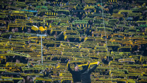 Borussia Dortmunds supporterläktare i matchen mot Mainz 05.