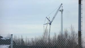 Innopowers vindkraftverk monteras ned i Kristinestad