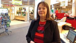 Margareta Kull-Poutanen, biblioteksdirektör i Kyrkslätt.