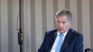 Sauli Niinistö i Moskva 23.3..2016
