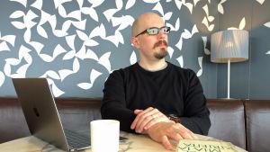 Filosofian ja retoriikan tutkija Markus Neuvonen