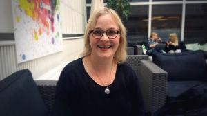 Marina Meinander, dramaturg, regissör och manusförfattare.