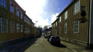 En gata i Trä-Vallgård, Helsingfors
