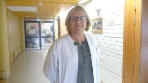 Tf ledande läkare Gerd Kronlund i Närpes