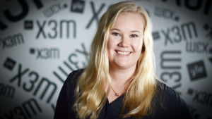 Alexia Westerholm kom in till Hanken på första försöket