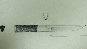 Piirros Tapio Wirkkalan suunnittelemasta puuosta