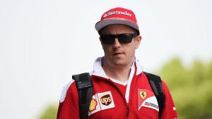 Kimi Räikkönen, april 2016.