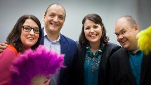Alla De Eurovisa i avsnitt två 2016.
