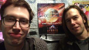 Kebus fans: Jan och Eike Krüger från Münster