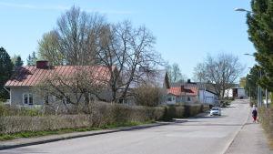 Frihetsvägen i Ekenäs.