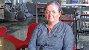 Nina Fabricius, chef för den svenska dagvården i Helsingfors.