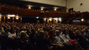 Helsinki Lit -kirjallisuusfestivaaleilla yleisöä