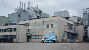 Fermions äldsta fabriksbyggnad i Hangö.