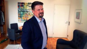 Matts Blomqvist är Kulturfondens regionombudsman för Nyland