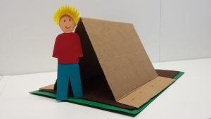 Askarrellaan: Emmin suunnittelema teltta