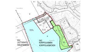 Ritningar på Port Aboa och Färjstrandsbron i Åbo.