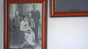 Margit Talls familj.