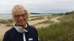 Greta Näs, loklapolitiker i Nykarleby (SFP)