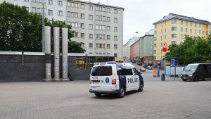 """Polisen patrullerar på """"Piritori"""""""