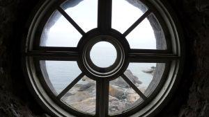 Fönster i Bengtskärs fyr