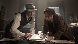 Colin Firth och Jude Law.