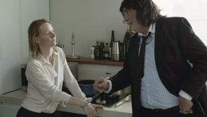 Scen ur filmen Toni Erdman.