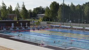 50 meters bassängen