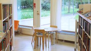 Barnavdelning på Tölö bibliotek