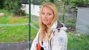Alexandra Dahlberg, seglare, går i Brändö idrottsgymnasium