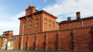 Gamla länsfängelset på Kakolabacken i Åbo.