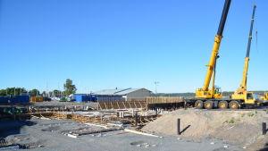 Norra hamnen i Ekenäs.