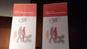Arbetet med vård- och landskapsreformen presenteras i alla landskap.