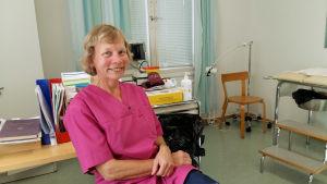 Läkare Nina Alopaeus