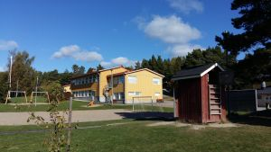 Träsk skola i Houtskär.