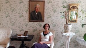 Ann-Mari Backman är numera verkställande direktör på Hemmet i Åbo