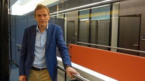 Forskningsprofessor Caj Södergård.