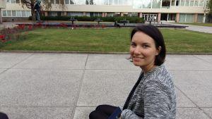 Piia Aidantausta studerar nordiska språk på Åbo Universitet