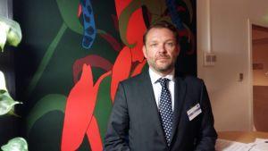 Överinspektör Rafael Bärlund vid Europeiska migrationsnätverket.