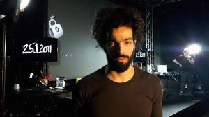 Egyptiska revolutionsmusikern Ramy Essam på Teater Viirus