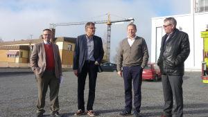 Mikael Snellman, Christer Holmström, Stefan Mutanen, Michael Söderlund