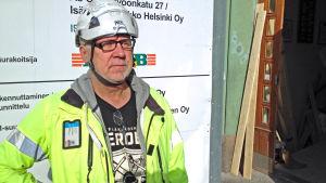 Stig Strömberg, vd för företaget Sähkö Strömberg.