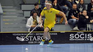 Pertti Mehtälä spelar för FBC Raseborg Knights.
