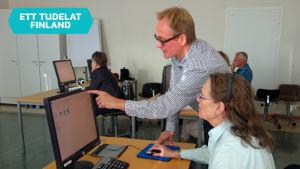 IT-undervisning vid Arbis.
