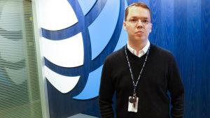 Informationssäkerhetsexperten Markus Lintula