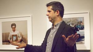 Fotografen Alec Soth på utställningen Gathered Leaves