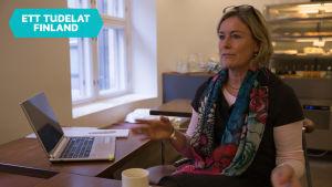 Porträtt på företagaren Susanne Kousa